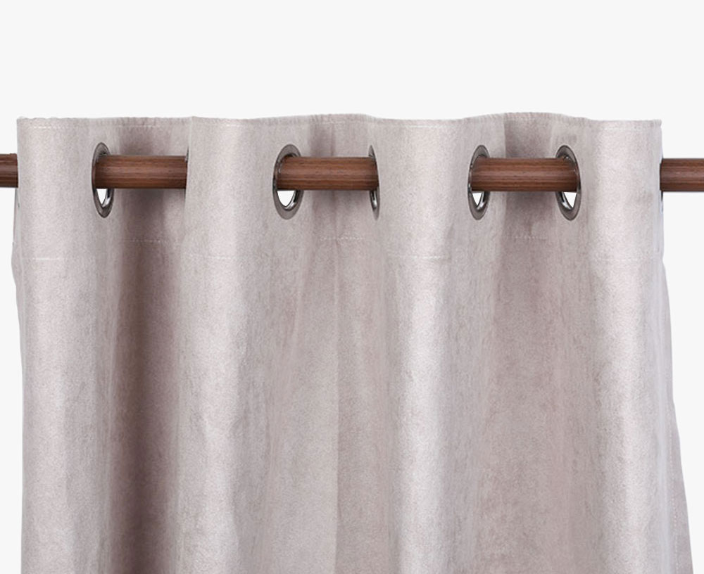 Suede Blackout Curtain