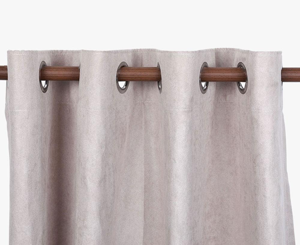 Suede Blackout Curtain