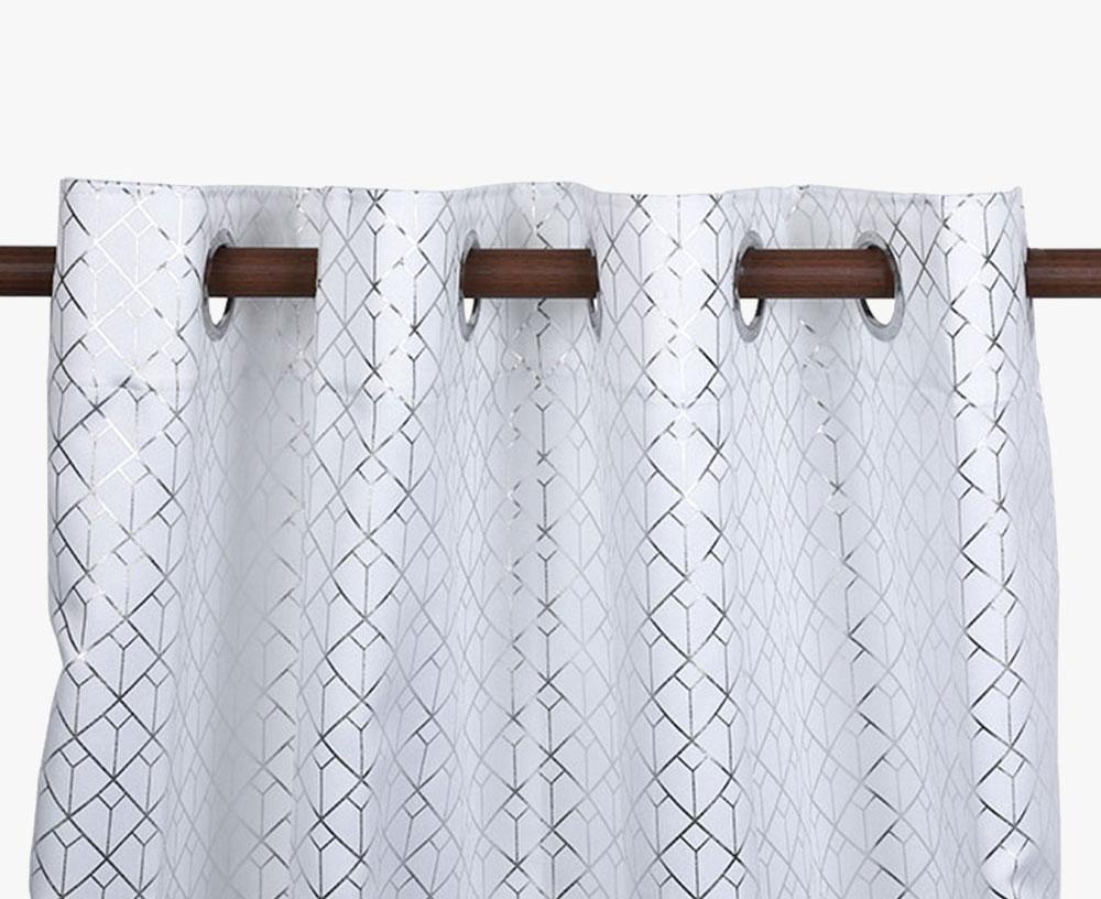 Foil Printing Microfibre Curtain