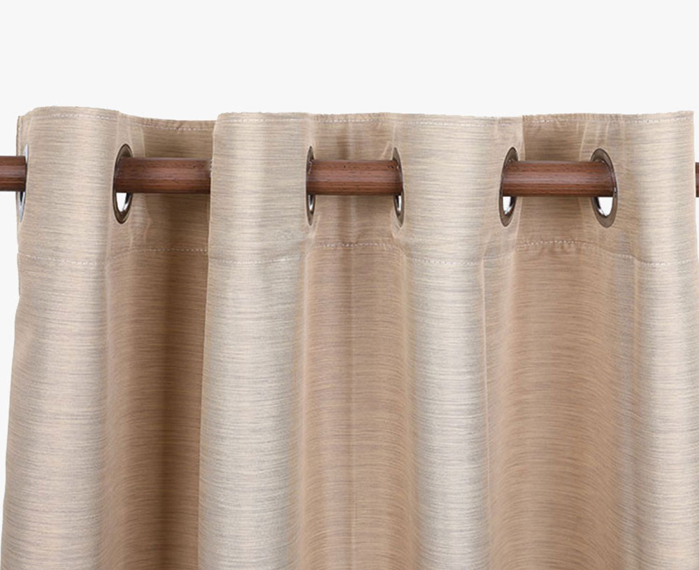 Cationic Linen-like Curtain