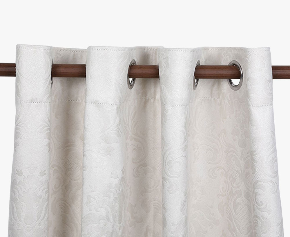 Suede Embossed Blackout Curtain