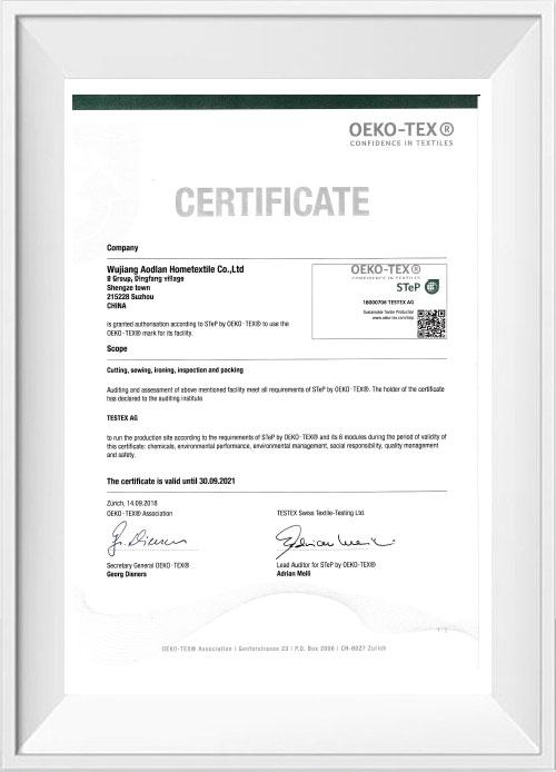 OEKO-TEX STeP