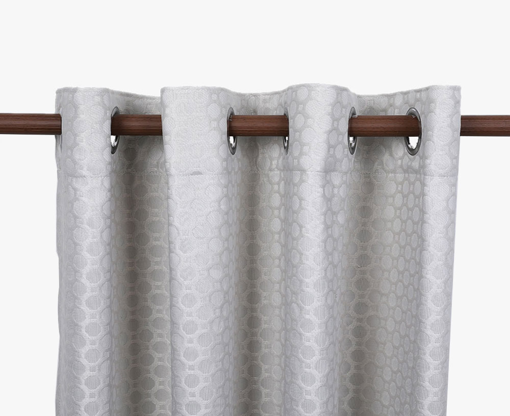 100% Polyester Jacquard Blackout Curtain