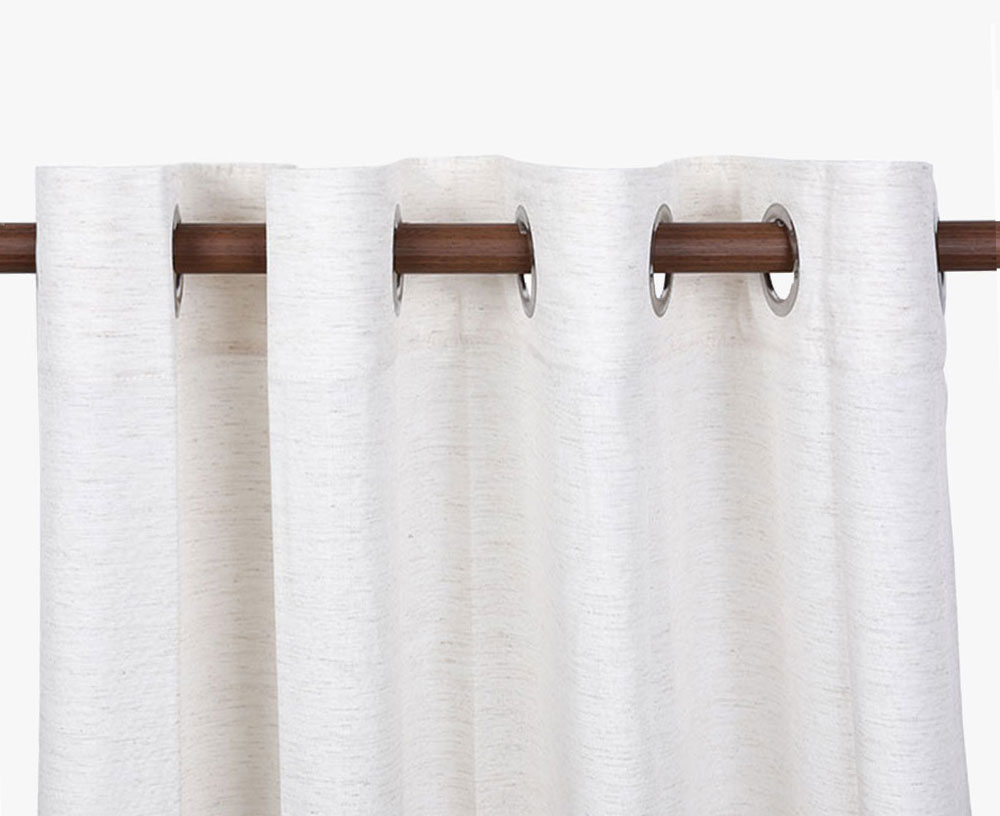 Silk-like Slubbed Curtain